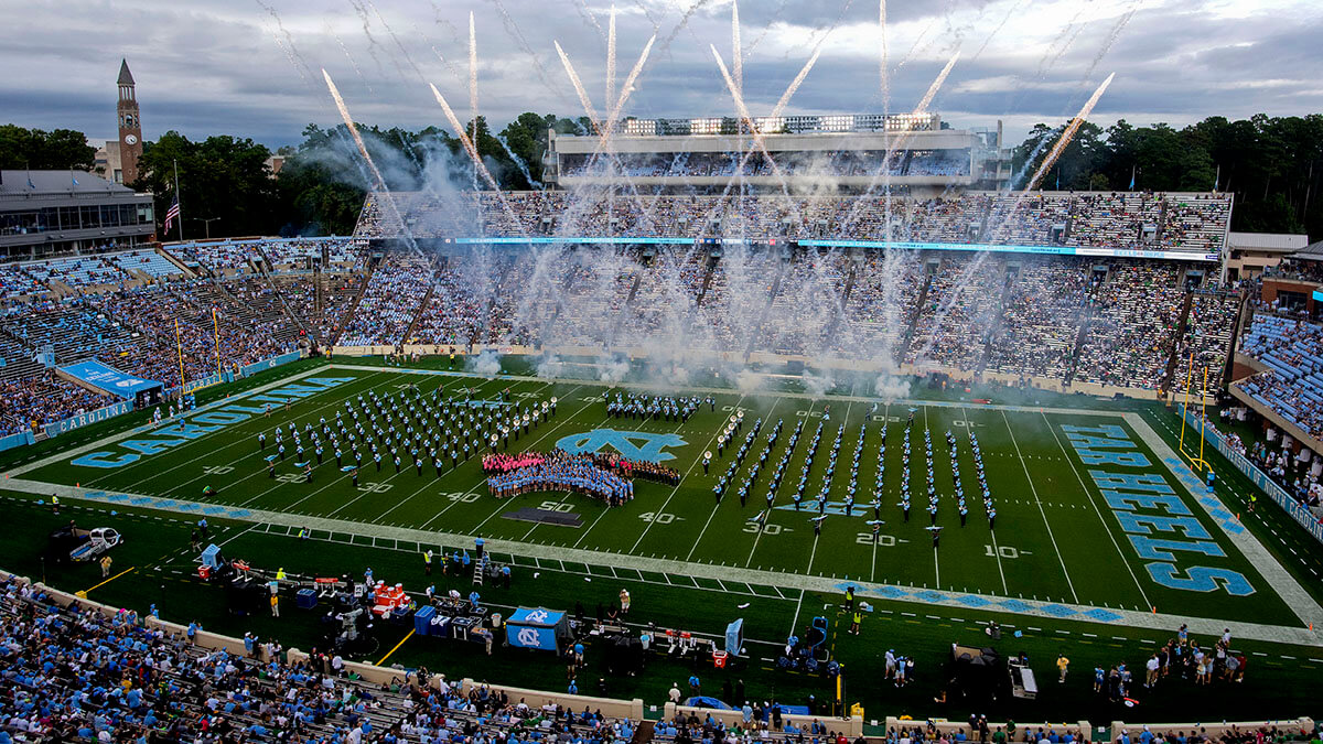 Individual chair back seats to be installed in Kenan