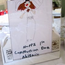 A special communion card