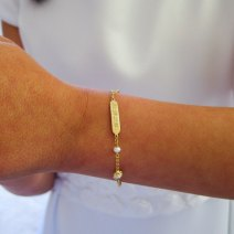 It's an opportunity to wear some special jewellery given to them as a gift for their Baptism