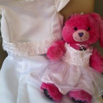 Build a Bear outfit to match her dress