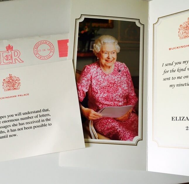 Letter from The Palace