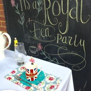 A Royal Afternoon Tea to celebrate a letter from The Queen