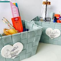Homework baskets. Have a look at the website to download some sentence starters which may help get pen to paper.
