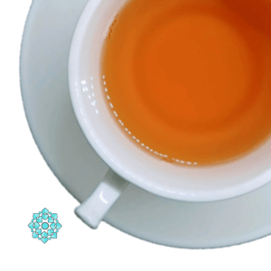 orange pala nutmeg tea