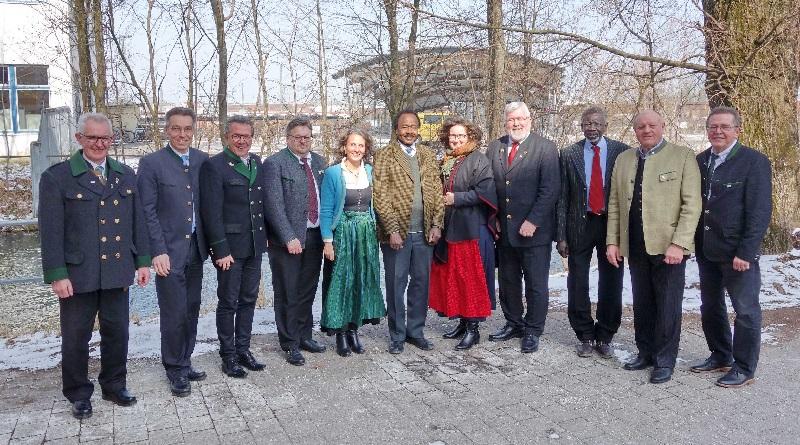UNCAV – Präsident Abdalla Sharief strebt Kooperation mit international vernetztem Bayernbund an!