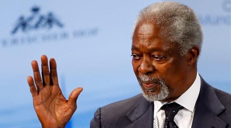 Former UN Secretary-General, Kofi Annan is dead