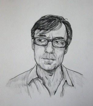 Joe Gibbons - graphite on paper