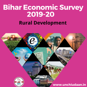 Bihar Economic Survey 2019-20 Rural Development