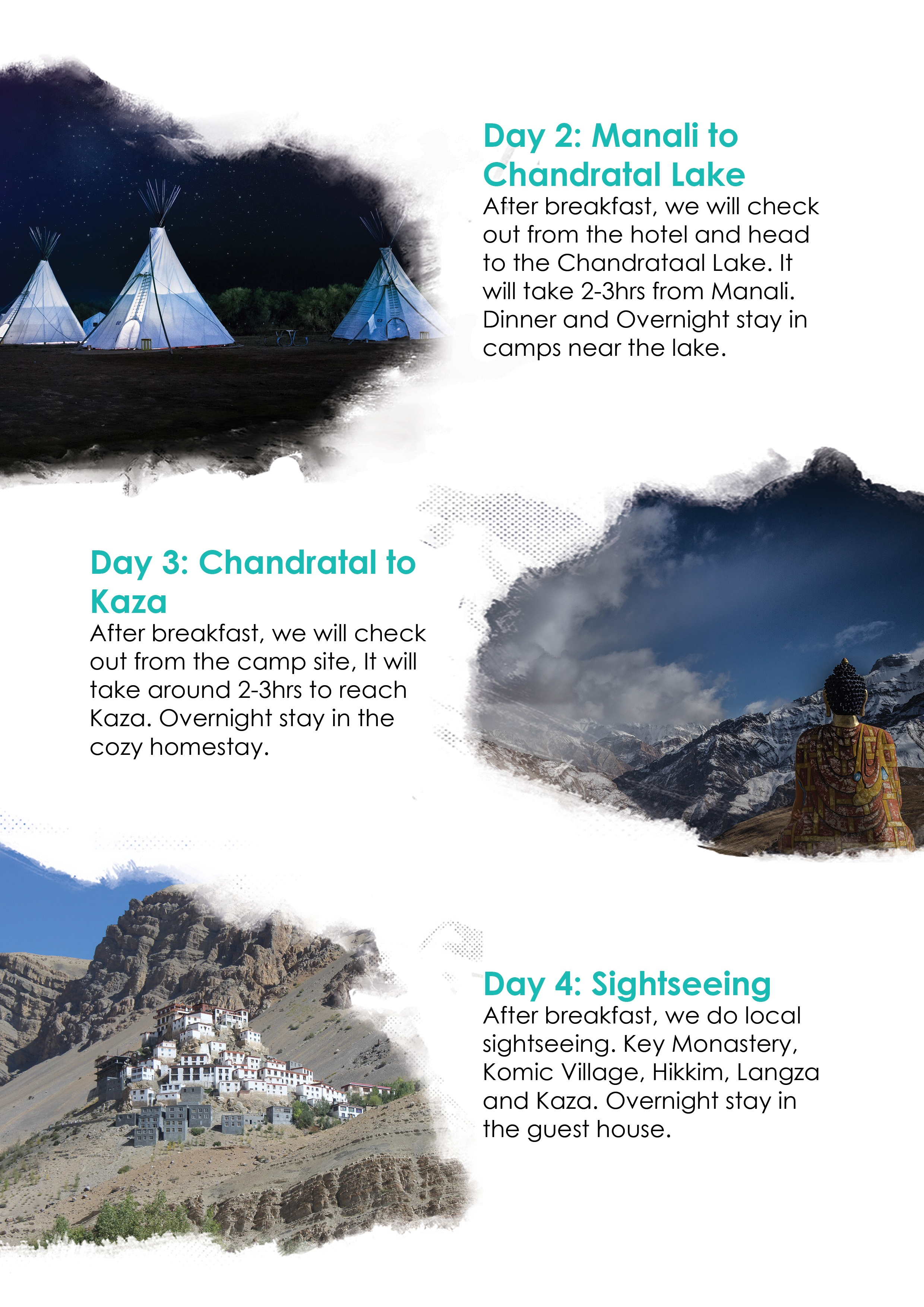 Spiti valley and chandrataal lake
