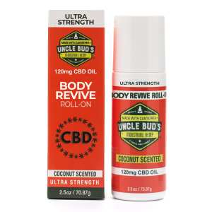 Uncle Bud's 120mg CBD Body Revive Roll-On