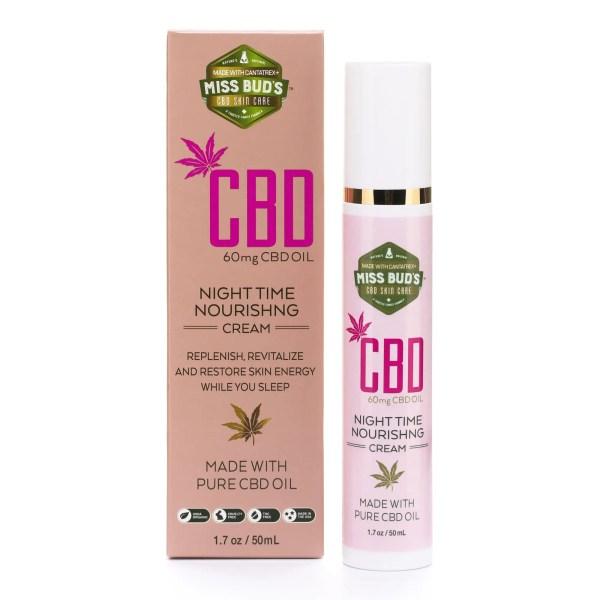 Miss Bud's CBD Night Time Nourishing Cream image 01