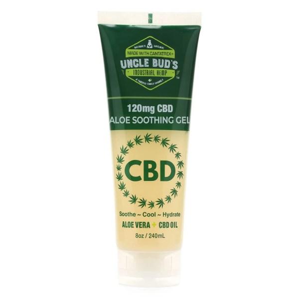 Uncle Bud's 120mg CBD Aloe Soothing Gel