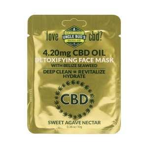 CBD Detoxifying Face Mask image 01