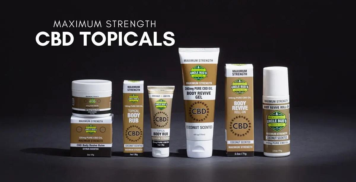 Maximum Strength Gold Label CBD Topicals