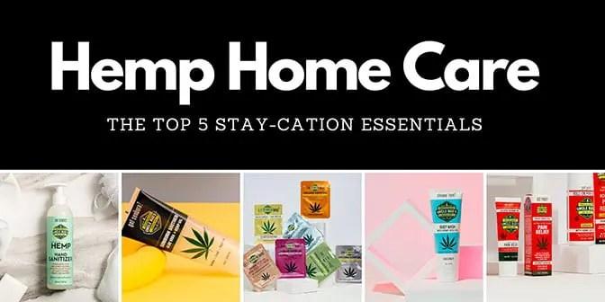 Hemp Home Care Banner