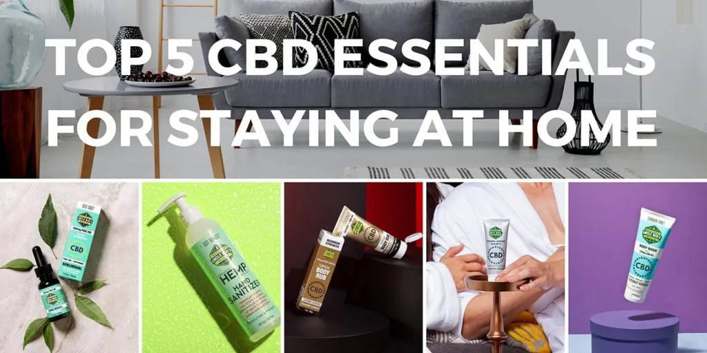 Stay at home CBD Header