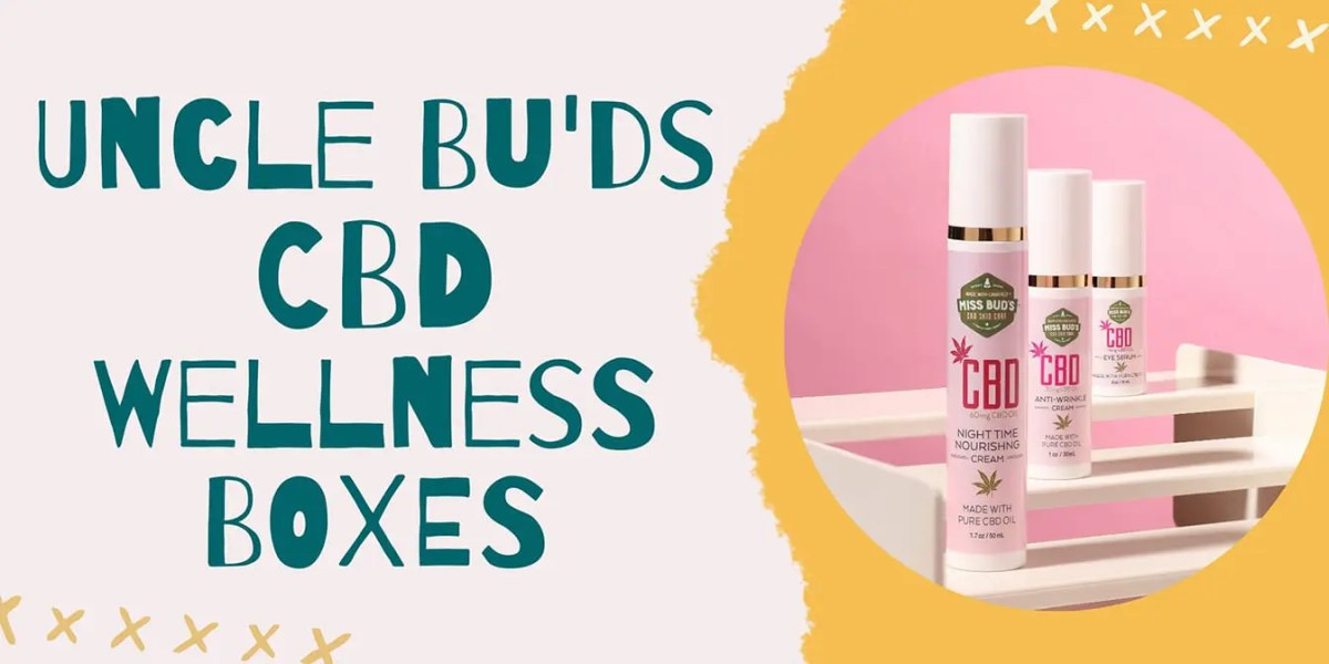 Uncle Bud's CBD Wellness Boxes Header