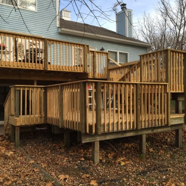 Deck Build In Columbia Mo