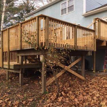 Finished Deck Build