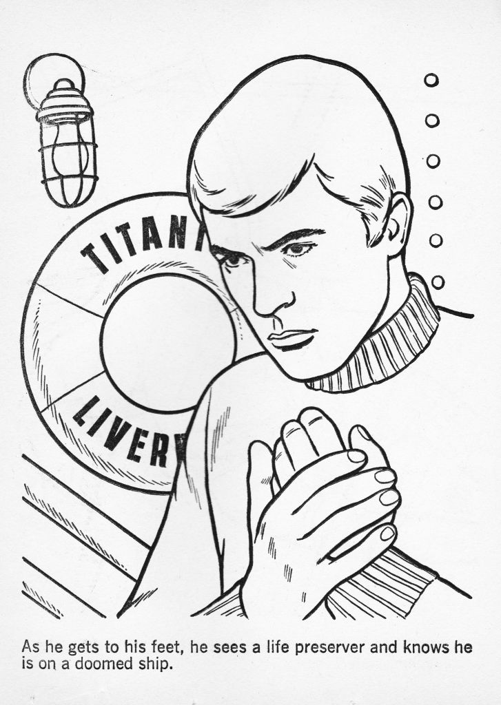 TIME TUNNEL COLORING BOOK