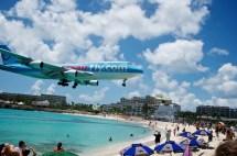 Site St. Maarten Watching People Planes