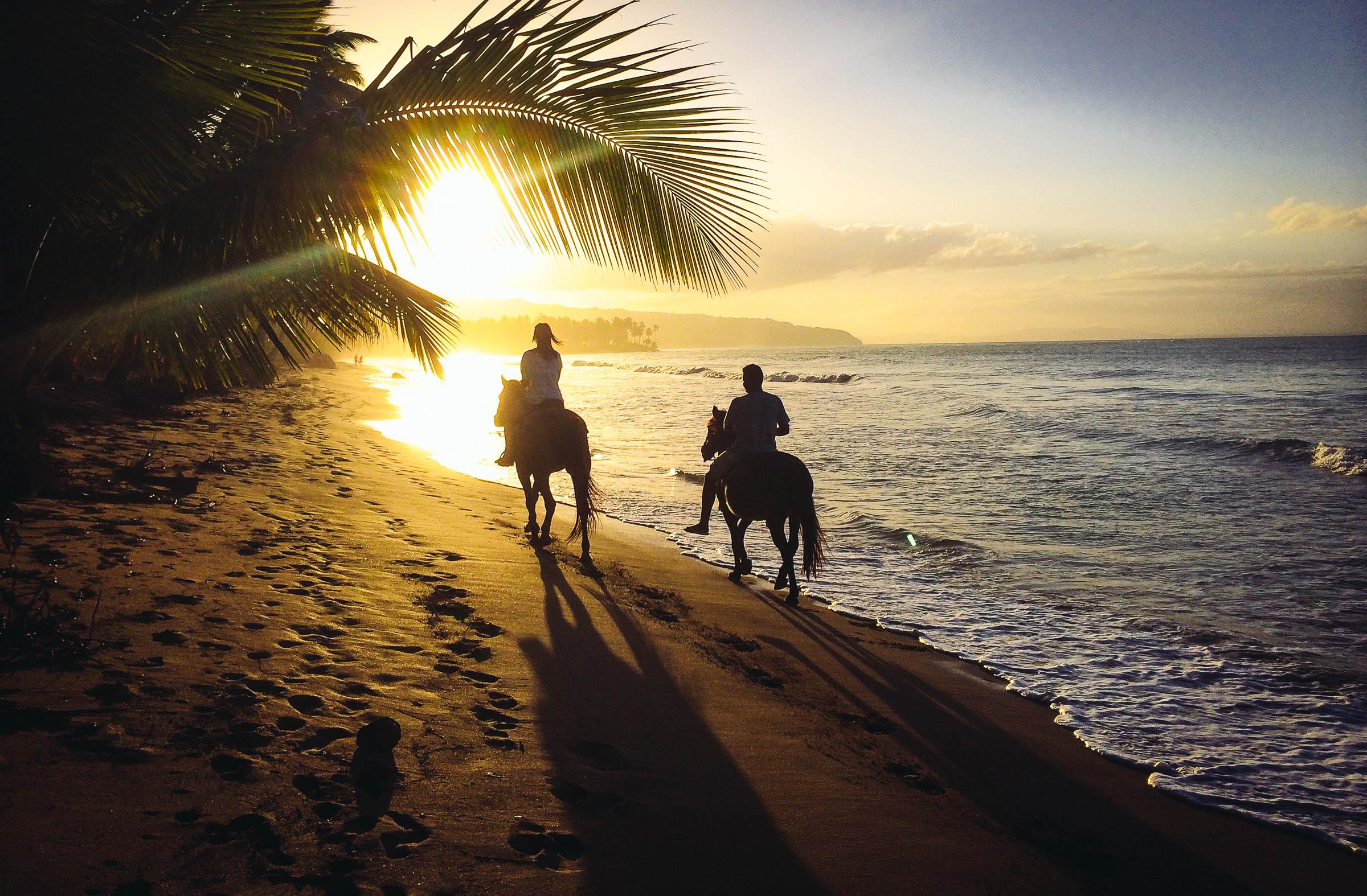 Caribbean Wallpaper Horseback Riding And The Perfect