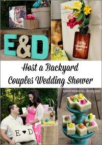 Backyard Couples Wedding Shower - Uncommon Designs