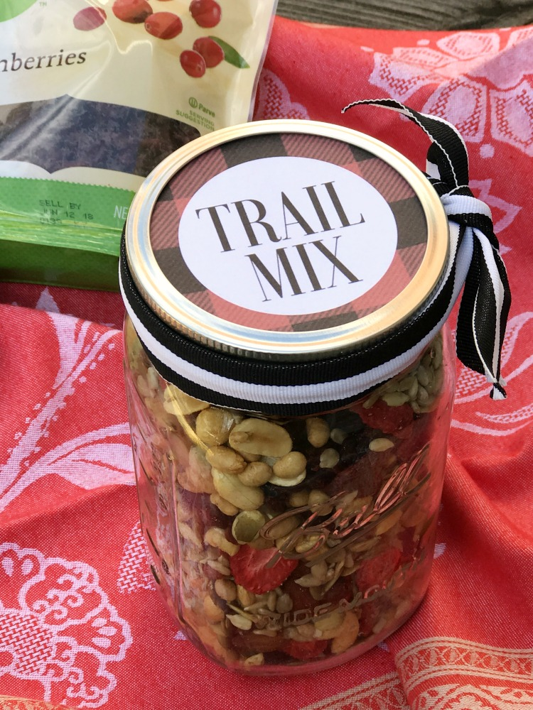 Homemade Trail Mix and Free Printable Labels  Uncommon