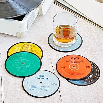 Record Coasters