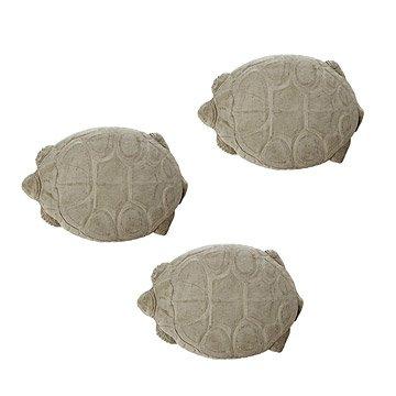 Vintage Tortoise Stepping Stones - Set of 3