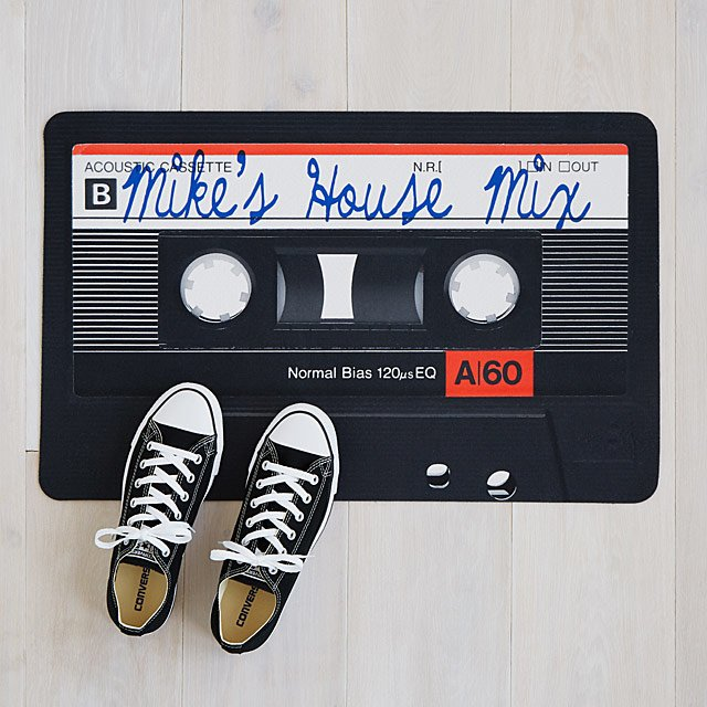 Personalized Mixtape Doormat