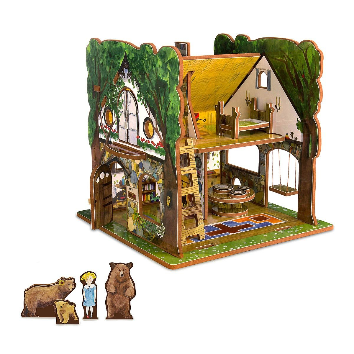 Goldilocks And The Three Bears Toy House