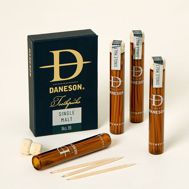 scotch infused toothpicks gift