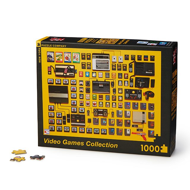 Video Games Collection Puzzle Video Game Puzzle UncommonGoods