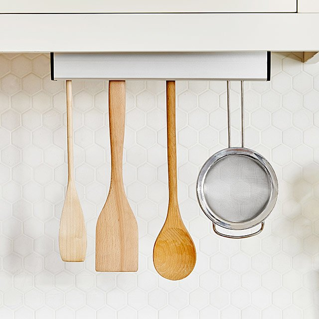 kitchen tool holder counter stools for floating utensil space savers spoon