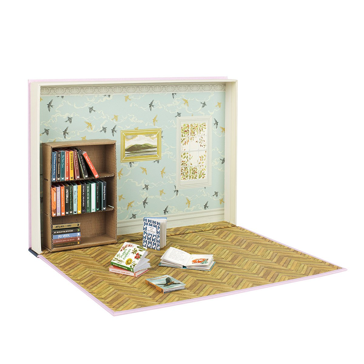 My Miniature Library Mini Book Dollhouse Kit Uncommongoods