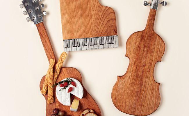 Musical Serving Boards Music Lover Gifts Guitar Decor