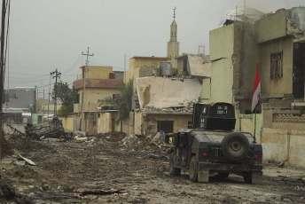 Mosul, Arab street, war