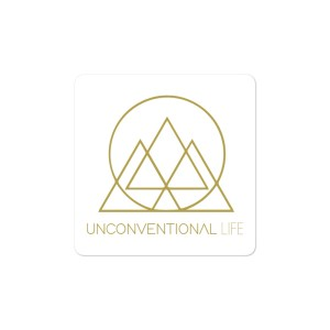 Gold UL Sticker – Square