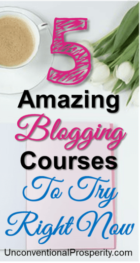 Wow these blogging courses changed everything for us! Massive traffic increase and income increase was the result of applying what we learned in these top blogging courses! Highly recommended if you want to take your blog to the next level!