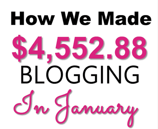 January 2018 Online Income Report – $4,552.88