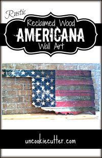 Rustic Americana Wall Art: January Create and Share ...