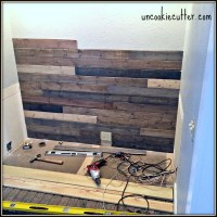Mixed Wood Wall - Easy & Cheap DIY - Uncookie Cutter