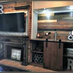 Rustic Industrial Living Room High Back Chairs For Before And After Uncookie Cutter Uncookiecutter Com