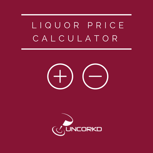 Bar Tools: Liquor Price Calculator Spreadsheet