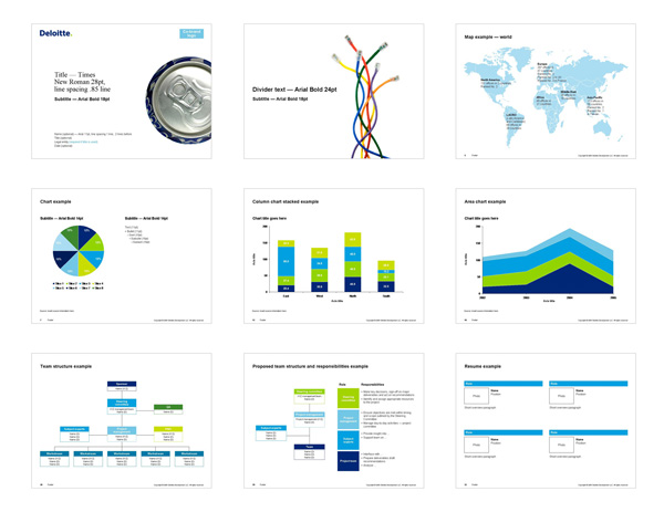 PowerPoint Presentation Project Samples Uncorked Design