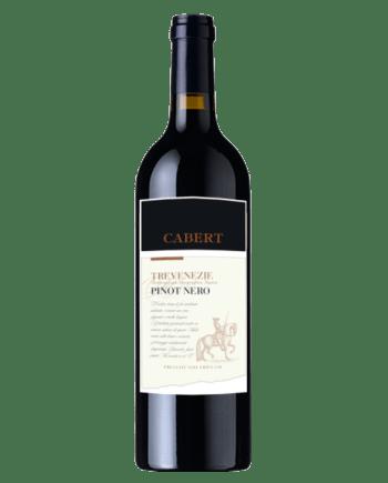 new label of Cabert TreVenezie Pinot Nero