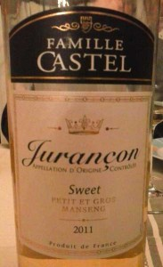 Jurançon, prodotto con passerillage
