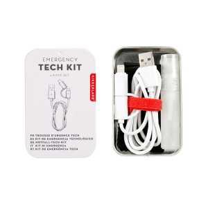kit de voyage urgence tech