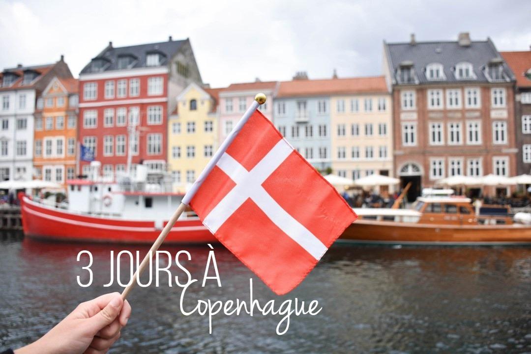 3 jours à la découverte de Copenhague